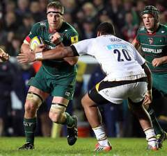 Brad Thorn played for Leicester Tigers earlier this year