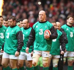 Paul O'Connell has retired from playing rugby