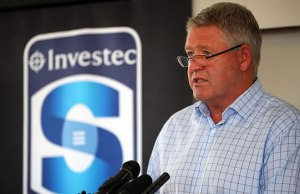 New Zealand Rugby chief executive Steve Tew