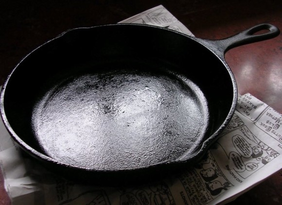 Seasoning A Cast Iron Skillet