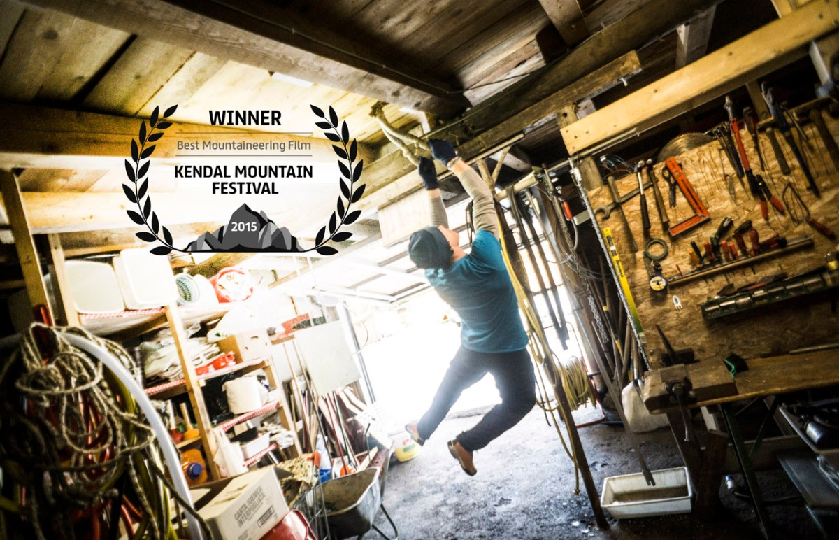 """our film """"TOM"""" wins at the Kendal Mountain Festival"""