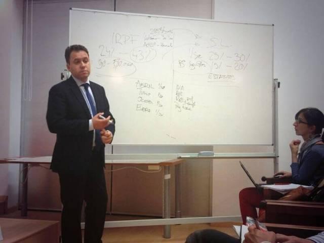 Jesus Ruiz Ballesteros abogado en Charla para Emprendedores