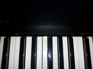 Photo close up of Reverb function keys