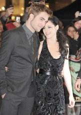 Photo of Kristen Stewar and Robert Pattinson before news of the affair