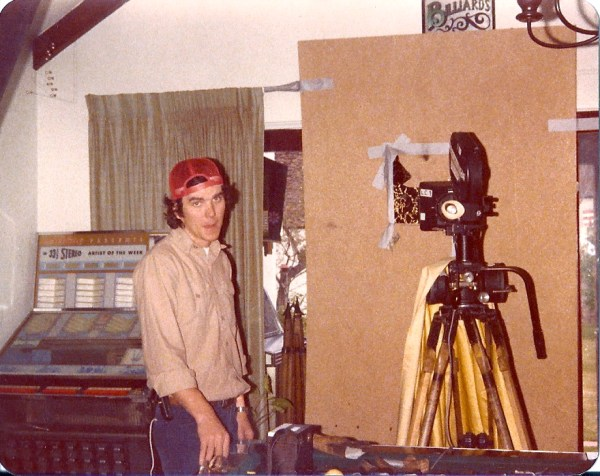 Rowdy Harrington helped out as our gaffer in early 1979. Rowdy later became a major filmmaker that included his direction of the 1989 hit, Road House