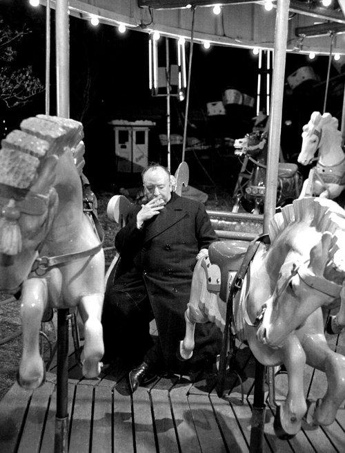 Hitchcock with my horse