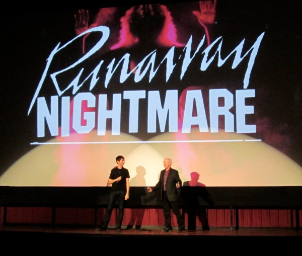 "Mike Cartel at the Ritz (Alamo Draft House Cinema) in Austin, Texas for the Premiere of ""Runaway Nightmare."""