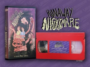 Already in Blu-ray and DVD, Videonomicon.com is now offering the new Runaway Nightmare in VHS!