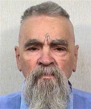 Charles Manson in 2014, the year that he got a marriage license to marry a 26-year old woman.