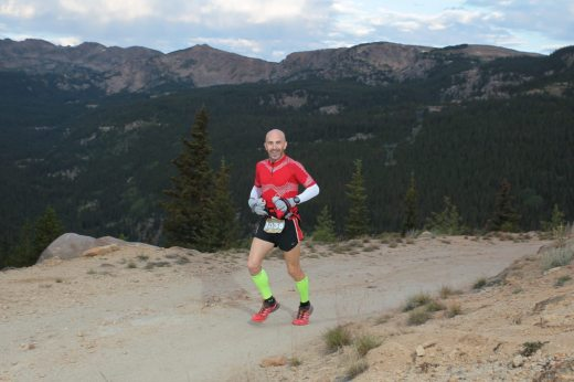 Climbing up out of May Queen and towards the 11,000ft Sugarloaf Pass.