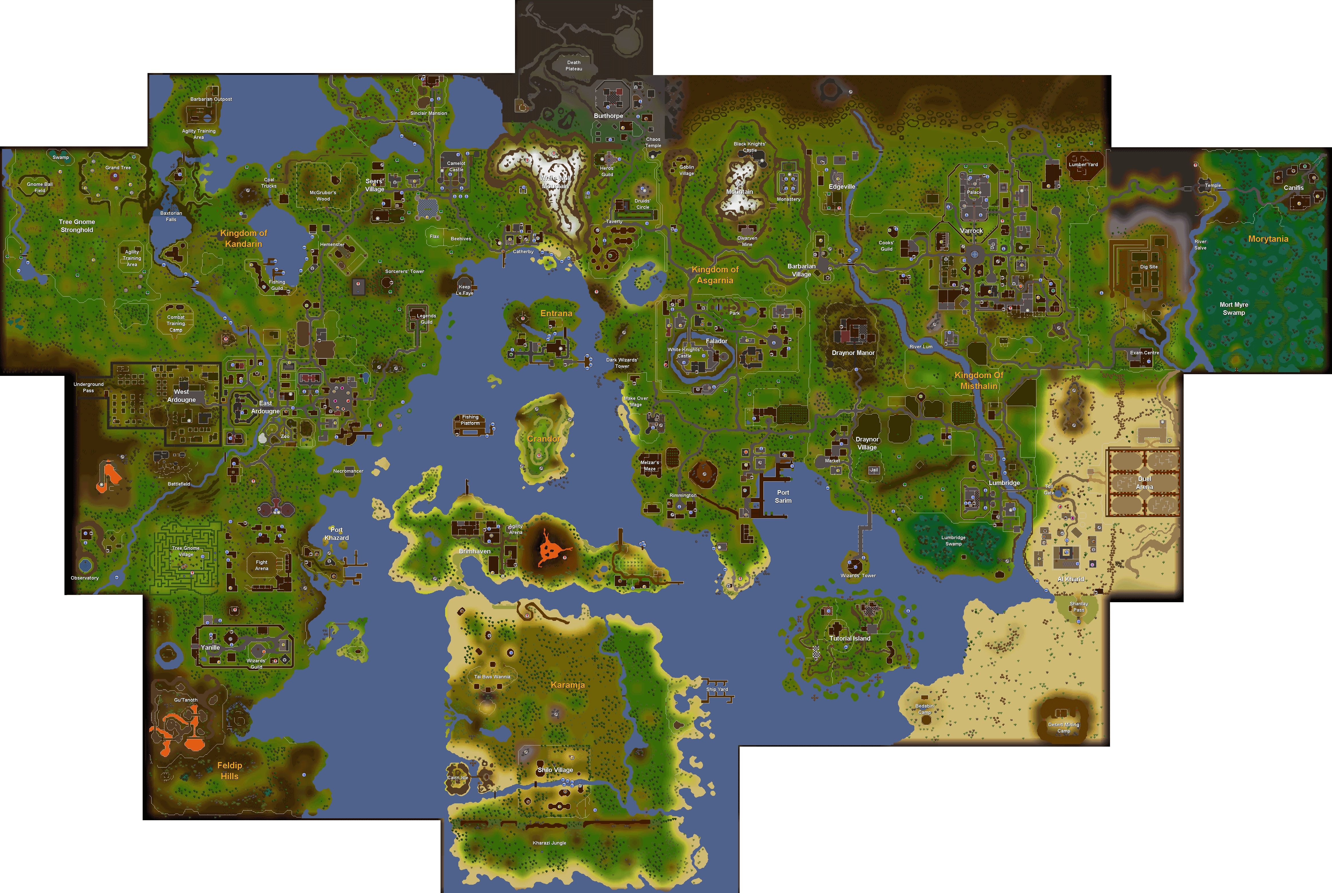 Rs worldmap links   Rs Mighty Gods Helping site  http   www runehq com maps rs2worldmap png