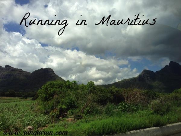 Running in Mauritius