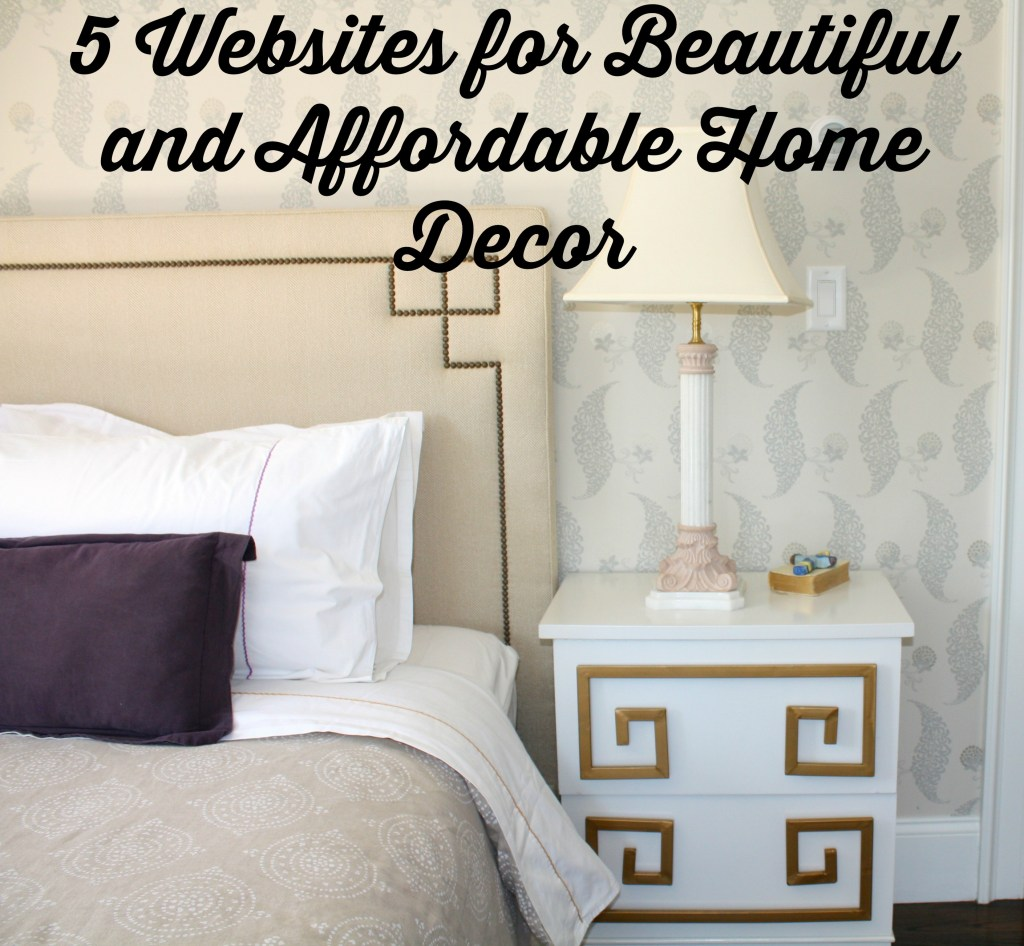 Friday favorites 5 websites for beautiful and affordable for Cheap home decor sites