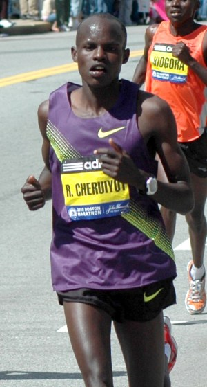 Boston Marathon, 2010 Boston Marathon, Robert Cheruiyot