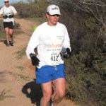 "Jerry Nairn runs as part of Insulindepence's ""Triabetes"" challenge."