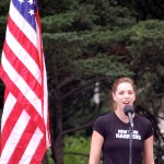 "Karla Bruning will sing ""American the Beautiful"" at the start of the 2010 ING New York City Marathon."