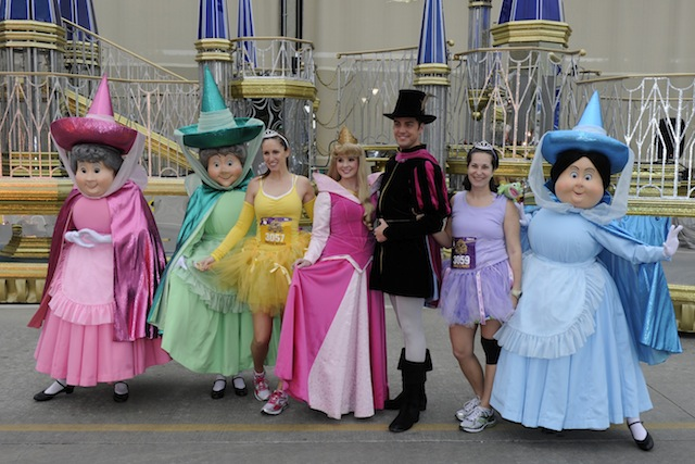 The cast of Sleeping Beauty