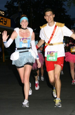 Race Report: Disney's Princess Half Marathon--Cinderella Running Costume
