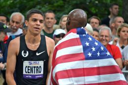 Matthew Centrowitz, Barnard Lagat, Fifth Avenue Mile
