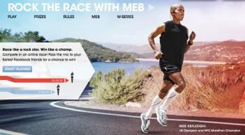 Sony W Series, Running, Runner, Meb Keflezighi