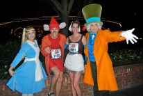 Walt Disney World Marathon, Disney running, run Disney, Mad Hatter, Alice in Wonderland, Cinderella, Jacque the Mouse