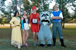 Walt Disney World Marathon, Disney running, run Disney, Cinderella in rags, Jacque the Mouse, running costume