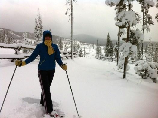 snowshoeing, Colorado, snowshoe