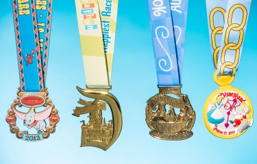 Disneyland Half Marathon medals