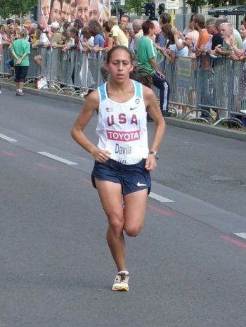 Desiree Davila, Berlin Marathon