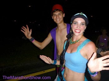 year in review, aladdin running costume, jasmine running costume