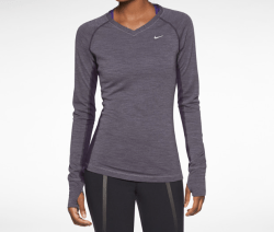 Best gifts for runners: Nike Dri-Fit Wool V-Neck