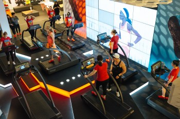 Nike Free Stride Treadmill Session
