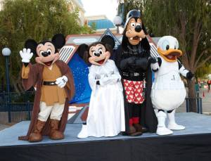 Star Wars Mickey Mouse and Friends