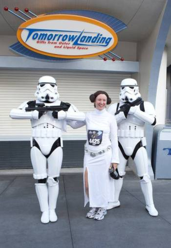 Star Wars Disney race bibs available via charity and tour groups
