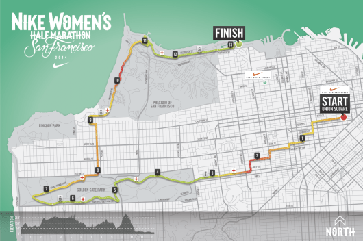 Nike Women's Half SF Course Map is Here!
