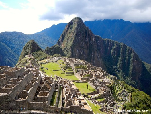 Machu Picchu! From: Marathon Training Derailed? Get Right Back On Track