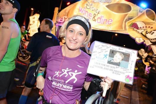 Disney Wine and Dine Half Marathon Charity Bibs