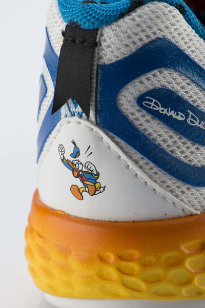 New Balance Releases Donald Duck Disney Shoes