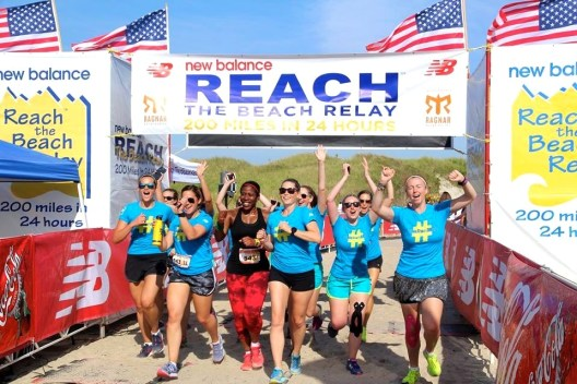 Race Report: New Balance Reach The Beach Relay