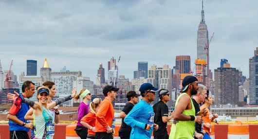 Run 2016 TCS New York City Marathon Via Charity
