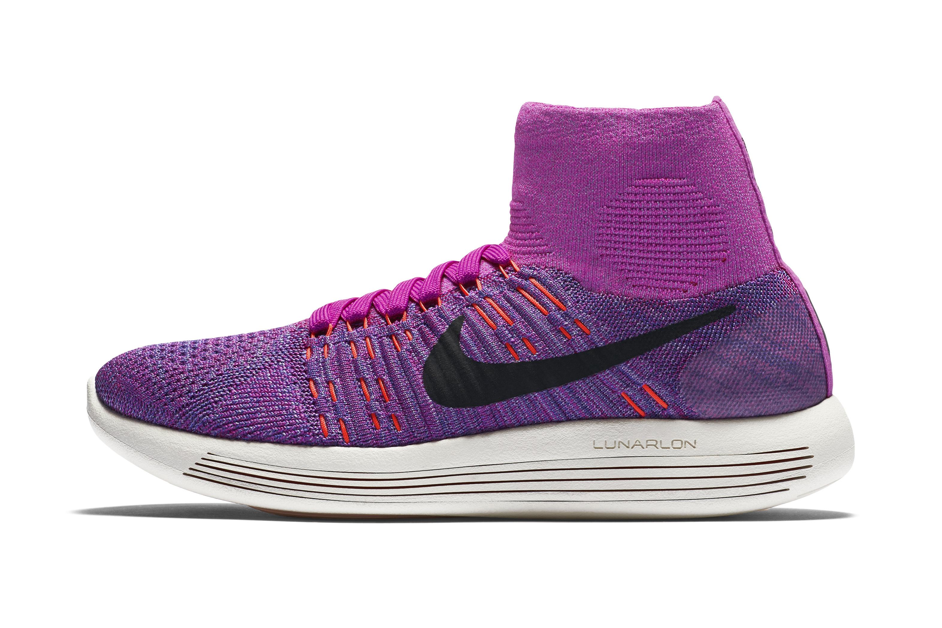 Nike Flyknit Lunaire 3 Cas Couteaux Violet sfIJOdE