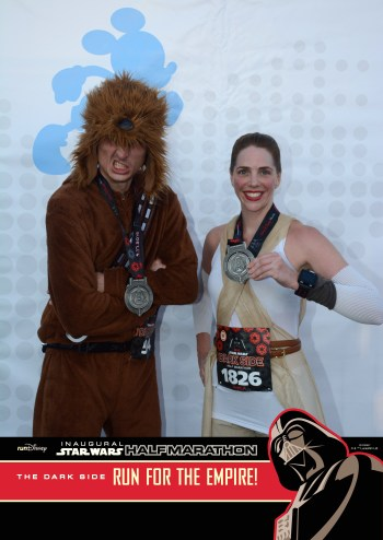 Race Report: Star Wars Half Marathon 'Dark Side'