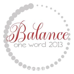 OneWord2013_Balance