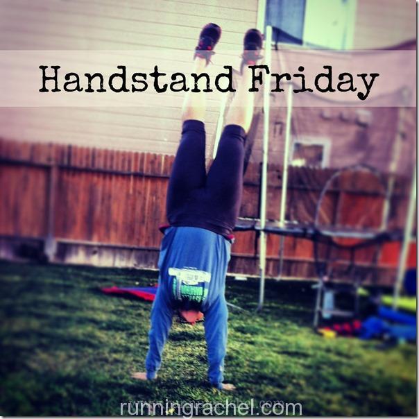 handstand friday via runningrachel
