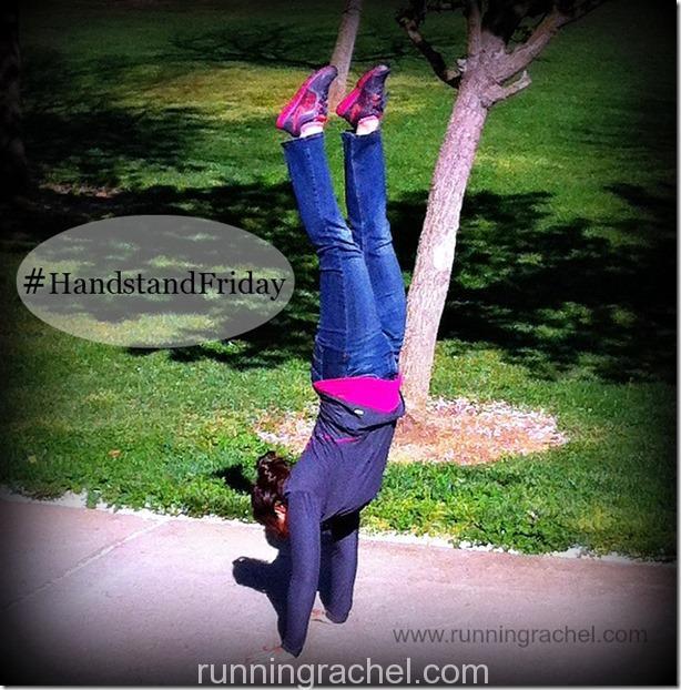 Handstand Friday via @RunningRachel