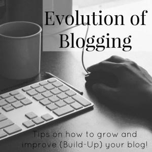 Evolution of blogging
