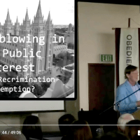 Dr Andrew Wakefield - Feast of Consequences - Whistleblowing in the Public Interest
