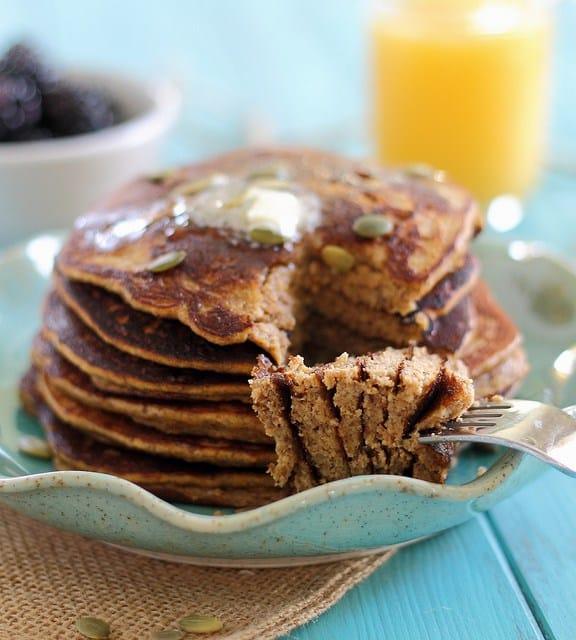Paleo Creme Brulee Pancakes