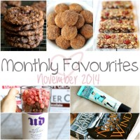 . monthly favourites - november 2014 .