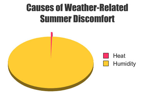 Hilarious and true  runner thoughts on summer running